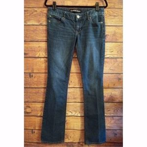 Express Barely Boot Low Rise Jeans SZ 4L